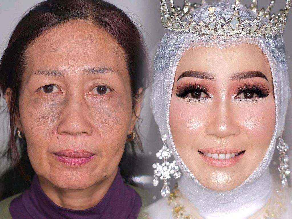 Ari Izam, Makeup Artist yang Viral Bikin Wajah Nenek-nenek Jadi Remaja