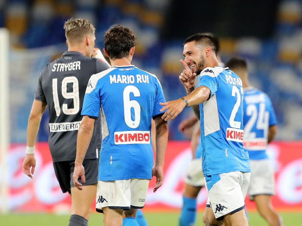 Napoli Vs Udinese: Gol Politano di Injury Time Menangkan Partenopei