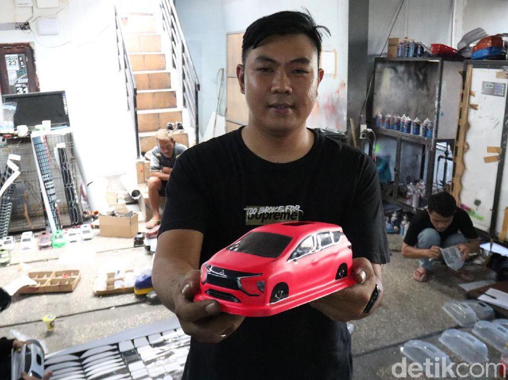Keren! Tempat Tisu Mobil Made in Bandung Dilirik Pasar Luar Negeri