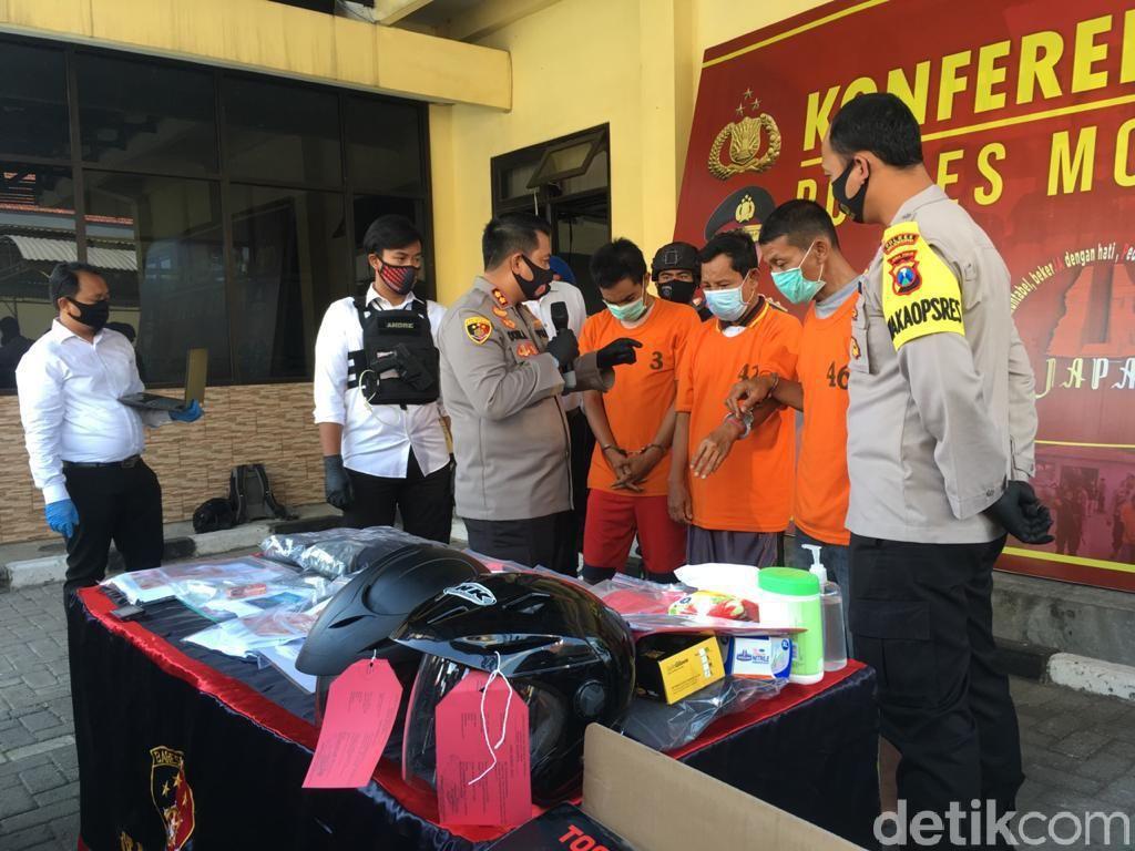 Perampok Uang Rp 259 Juta di Mojokerto Diringkus, 2 Pelaku Ditembak
