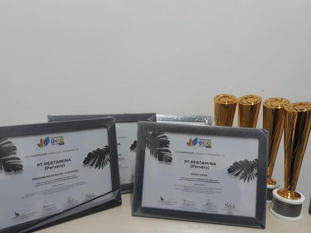 Pertamina Borong 5 Penghargaan di Teropong CSR Awards 2020
