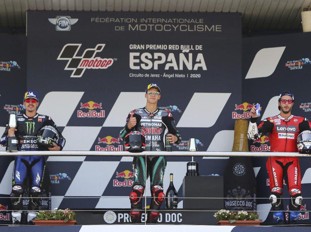 Marquez Cedera, Rossi Prediksikan Peluang Juara bagi Dua Rider Ini