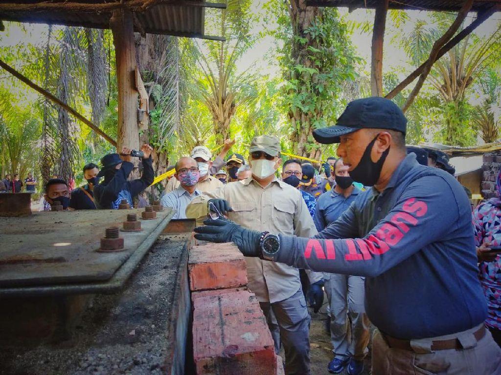 Penyulingan Minyak Ilegal Terbongkar di Riau, 4 Orang Diringkus