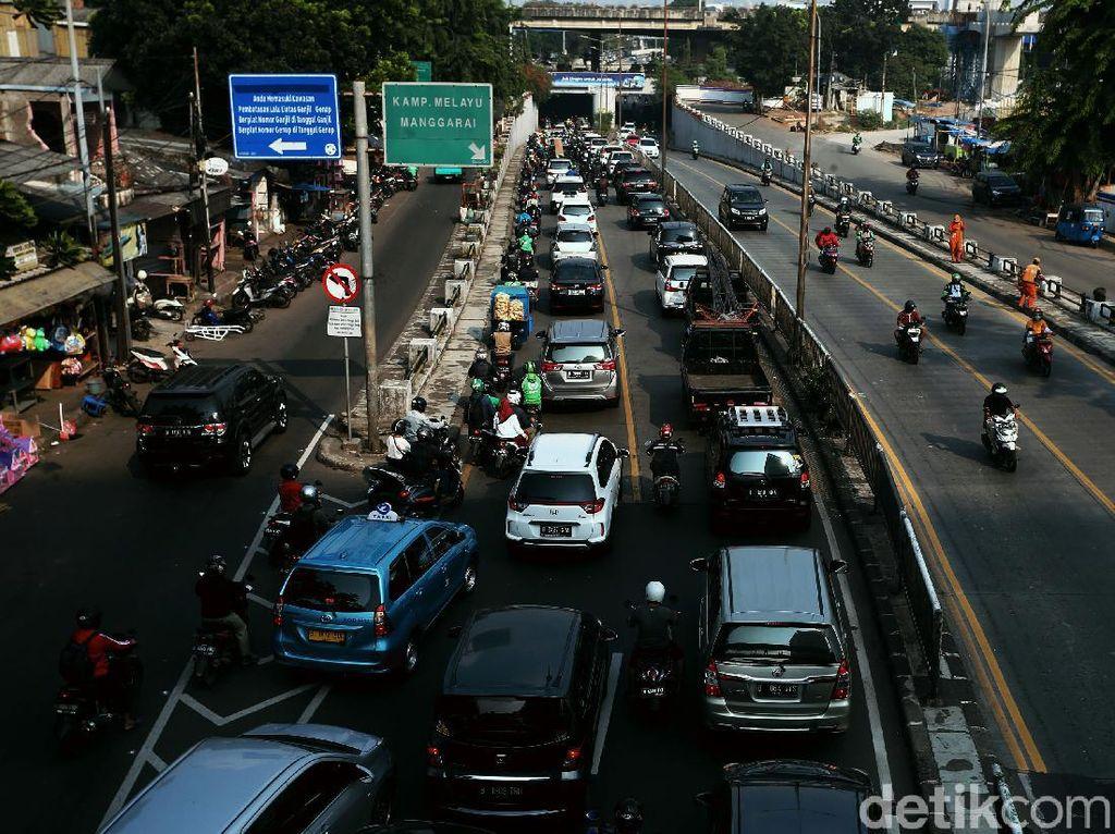 Ini Aturan Pakai Kendaraan Pribadi Saat PSBB Ketat di Jakarta