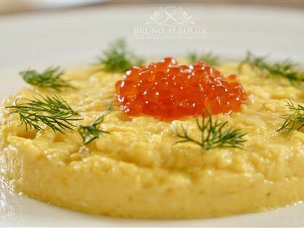 Cara Membuat Telur Orak-arik Gaya Prancis