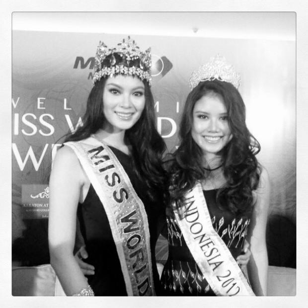 Ines Putri Miss Indonesia 2012