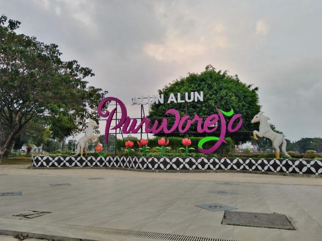 Alun-Alun Purworejo yang Semakin Menarik dan Instagramable