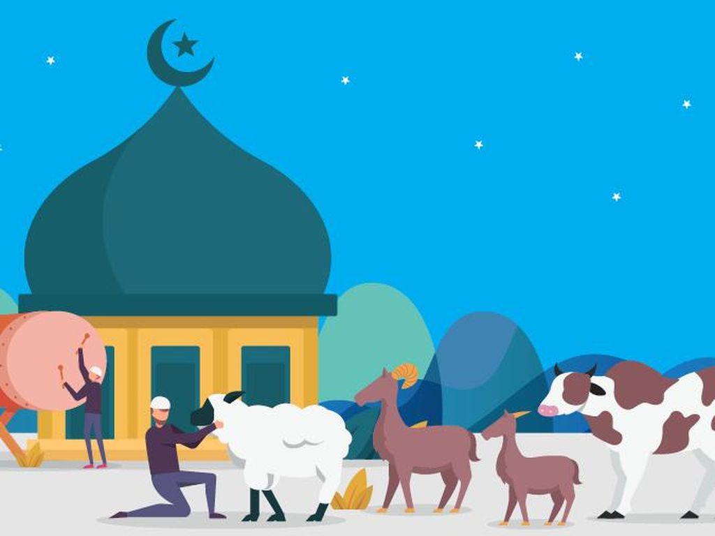 Bacaan Takbiran Idul Adha, Lengkap Versi Panjang dan Pendek