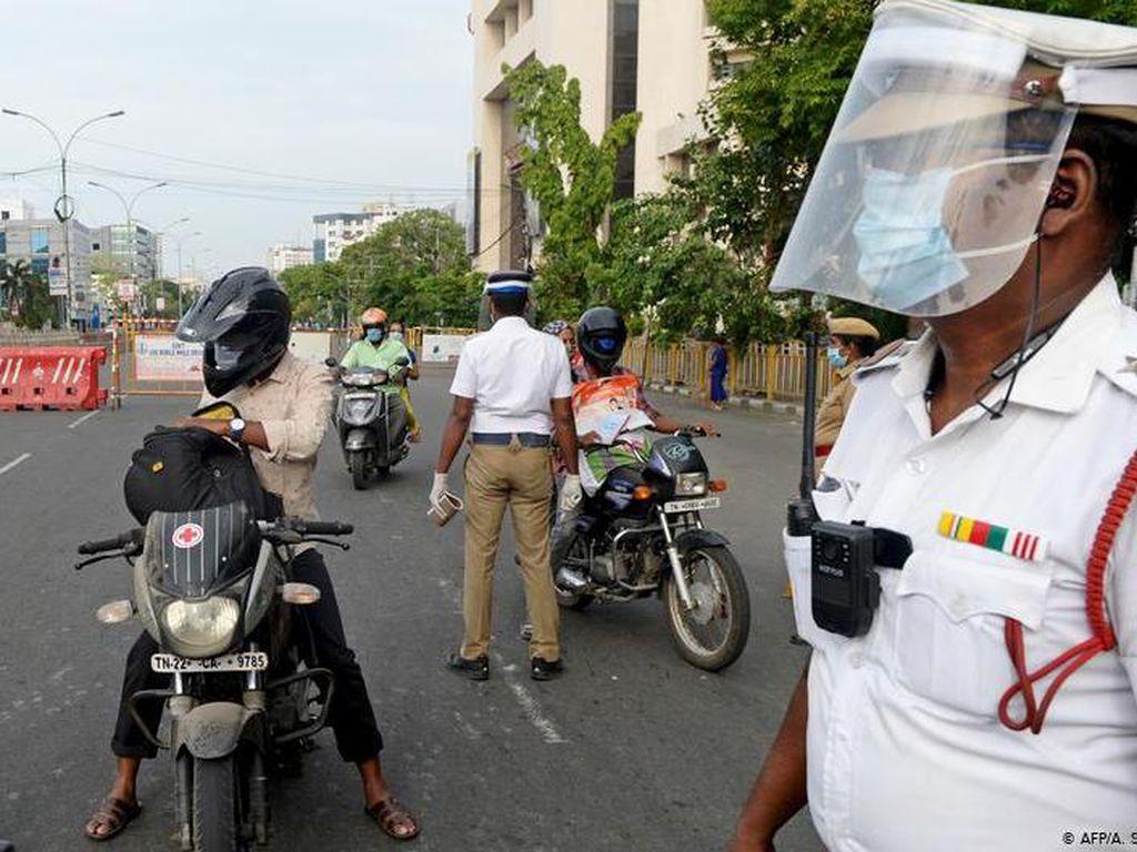 Kasus Corona di India Tembus 1,5 Juta, Hampir 35 Ribu Meninggal
