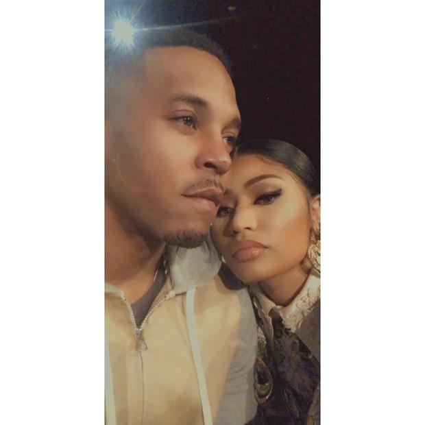 Nicki Minaj dan Kenneth