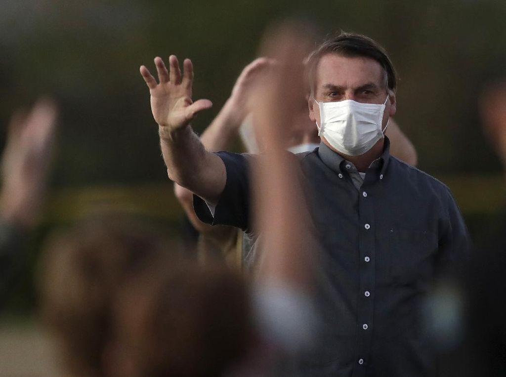Presiden Brasil Sembuh dari Corona, Giliran Kepala Stafnya Terinfeksi