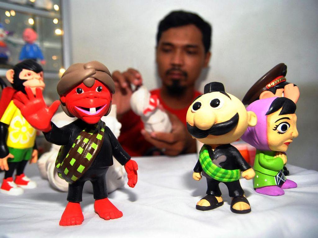 Boneka Maskot Daerah Ini Dipesan Hingga ke Jerman