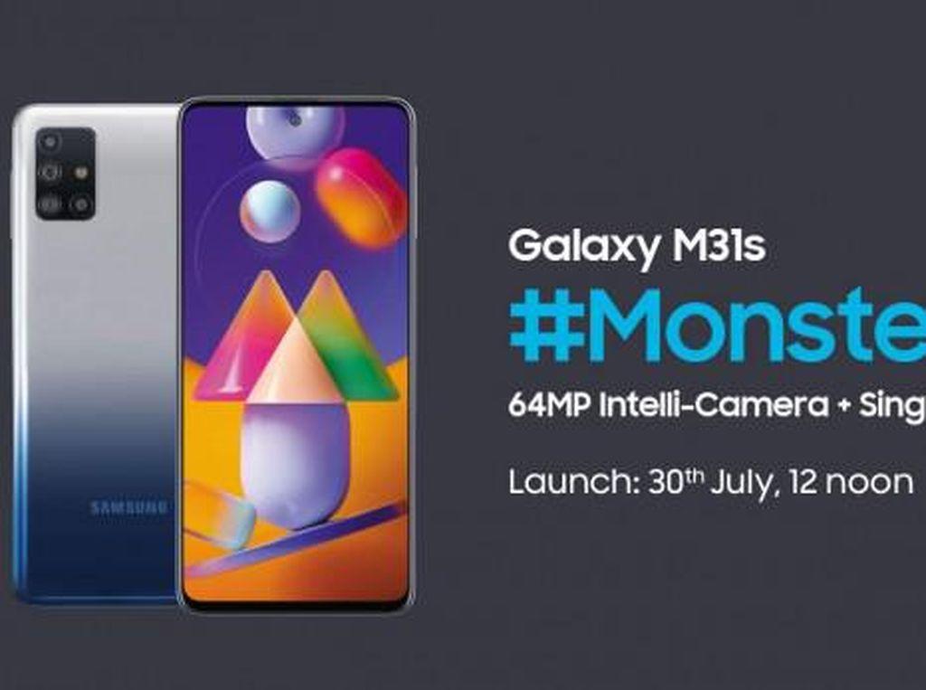 Galaxy M31s Siap Diresmikan, Samsung Kasih Bocoran