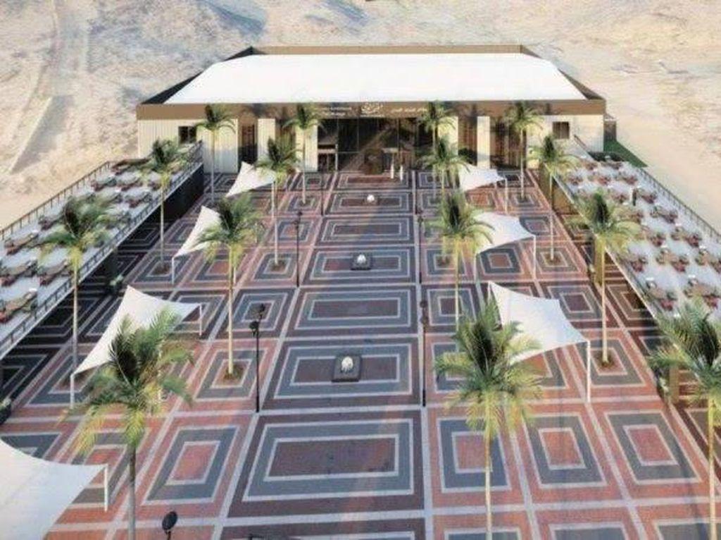 Jabal Nur akan Dibersihkan dan Dibangun Pusat Budaya