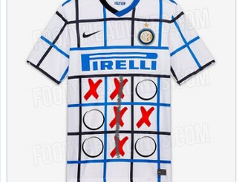 Meme-meme Kocak Jersey Tandang Inter: Serbet dan Tic Tac Toe