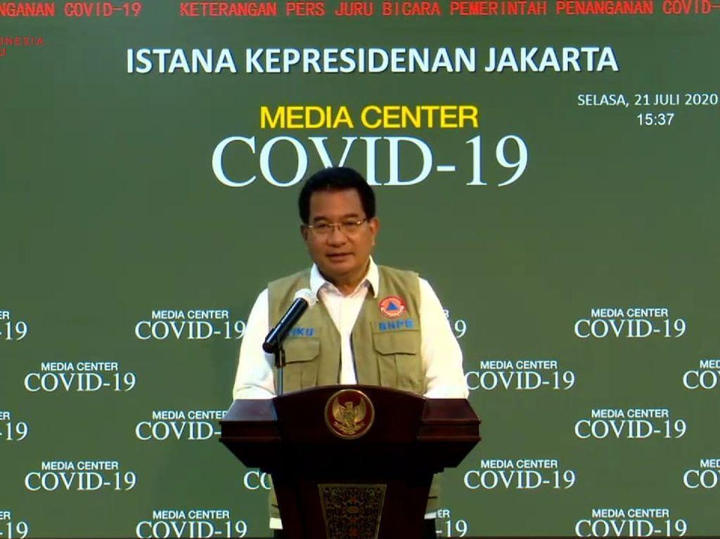 5 Provinsi dengan Kasus Corona Tertinggi: Jatim, DKI, Sulsel, Jateng, Jabar
