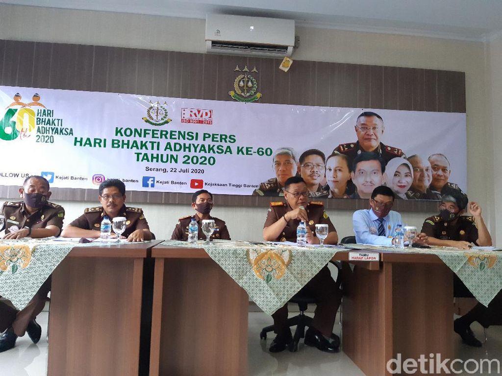 Kejati Banten Beberkan 5 Penyidikan Kasus Korupsi Selama Januari-Juli