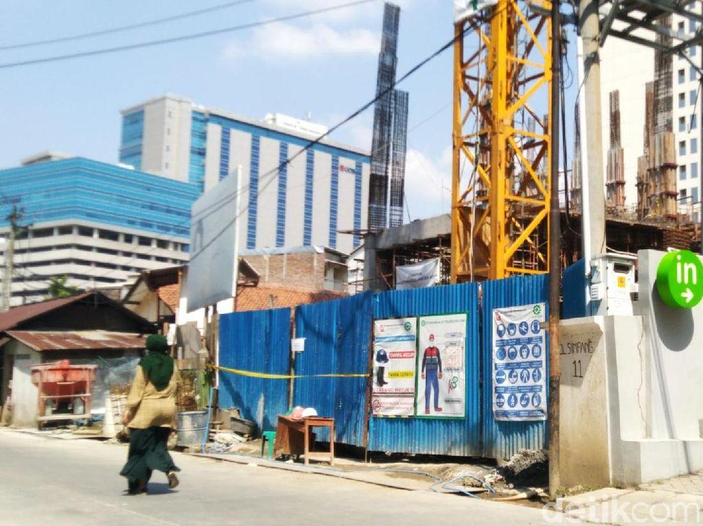 4 Pekerja Bangunan Hotel di Semarang Tewas Tertimpa Tembok