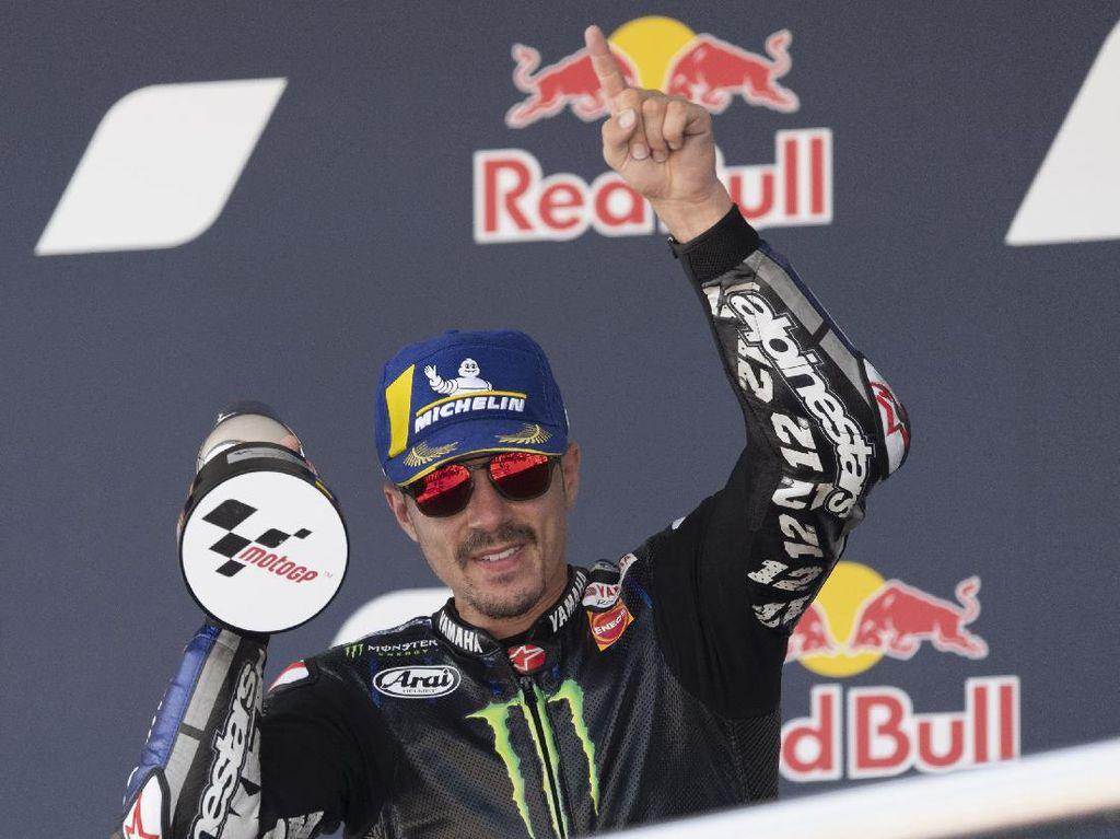 Vinales Gagal Juara MotoGP Spanyol Gegara Hal Ini
