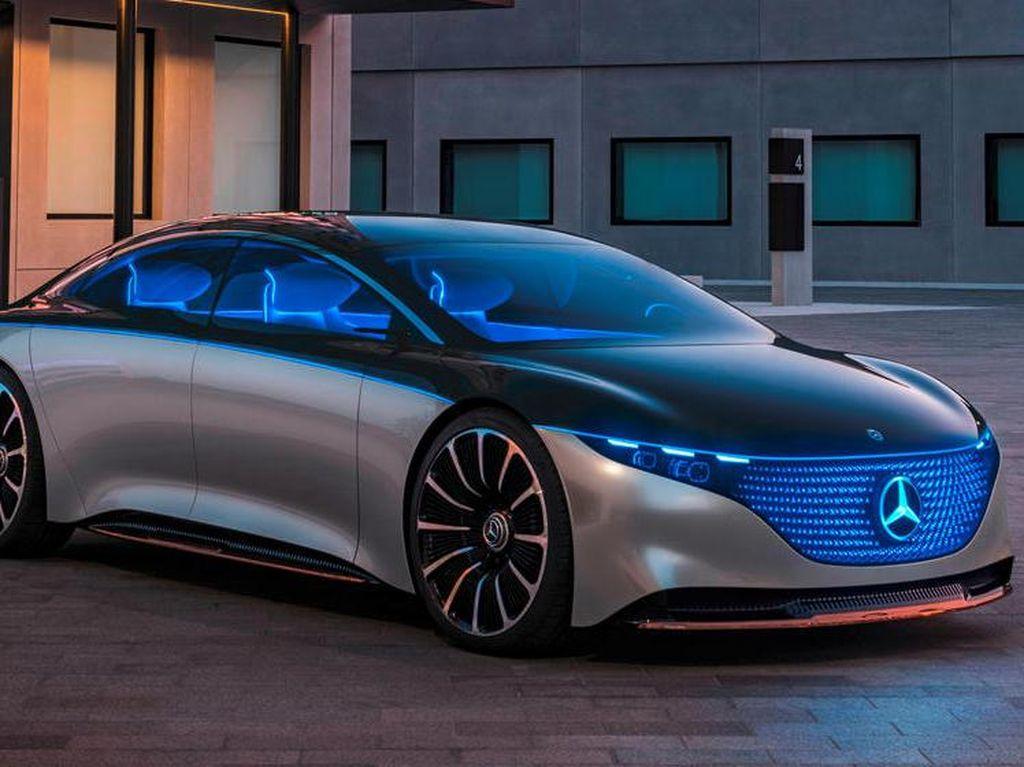 Mobil Listrik Baru Mercedes-Benz Digadang Bisa Tempuh Jarak Lebih Jauh daripada Tesla