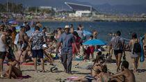 Kelewat Ramai, Pantai di Barcelona Ditutup Lagi