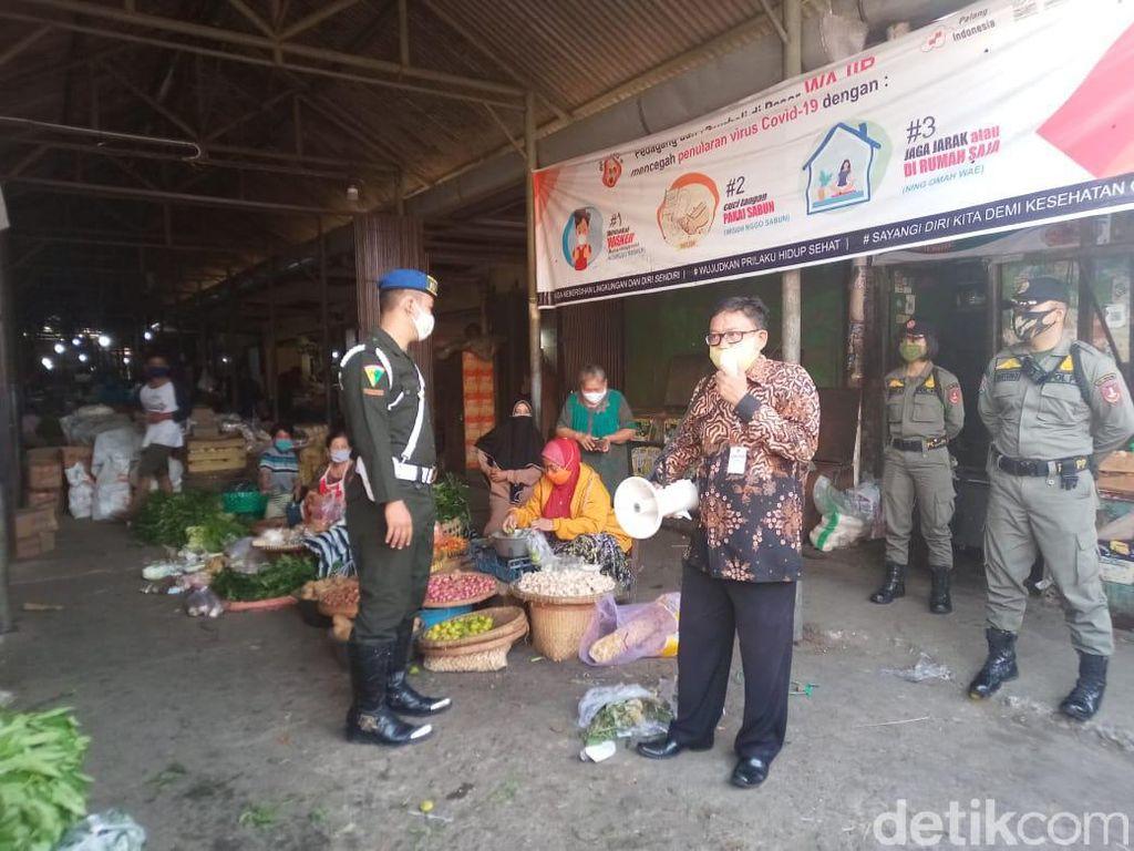 Sepekan Tutup Gegara COVID-19, Pasar Harjodaksino Solo Dibuka Lagi