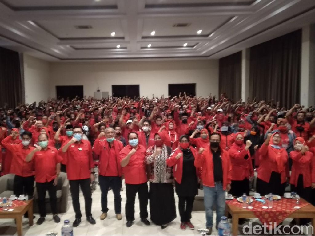 PDIP Jabar Minta Kader All Out Menangkan Jeje-Ujang di Pangandaran