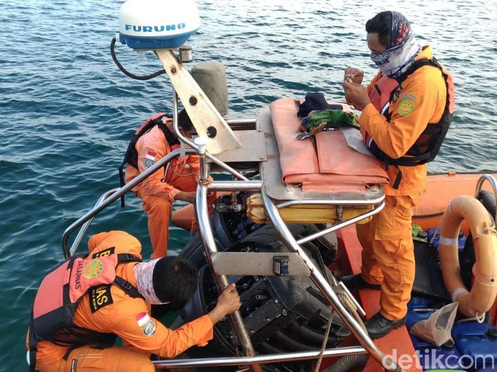 Seorang ABK Sumber Rizki Hilang di Laut Kutai Kartanegara Kaltim