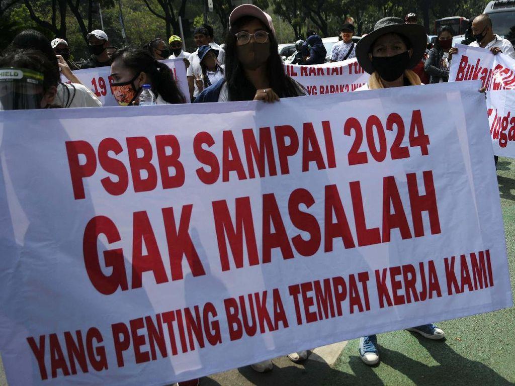 Pemprov DKI: Percuma Asphija Demo Lagi Kalau Tak Yakinkan Gugus Tugas