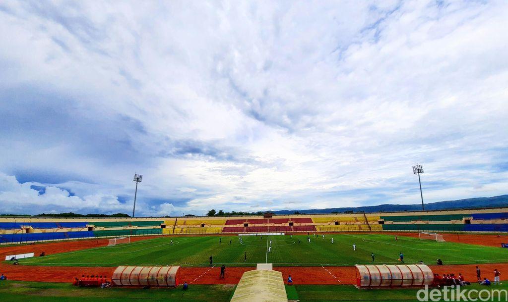 Stadion Sultan Agung saat menggelar laga sepakbola.
