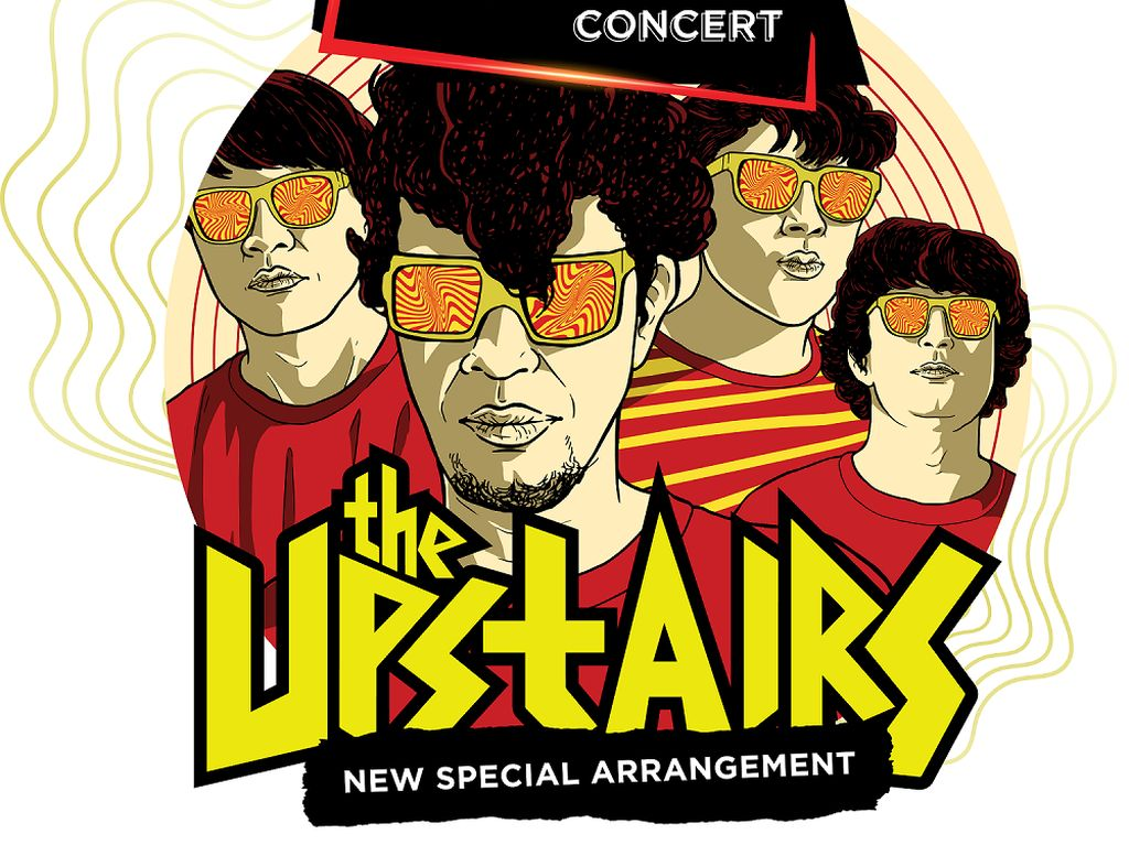 The Upstairs Ajak Berdansa Resah di This Is My Wave Concert