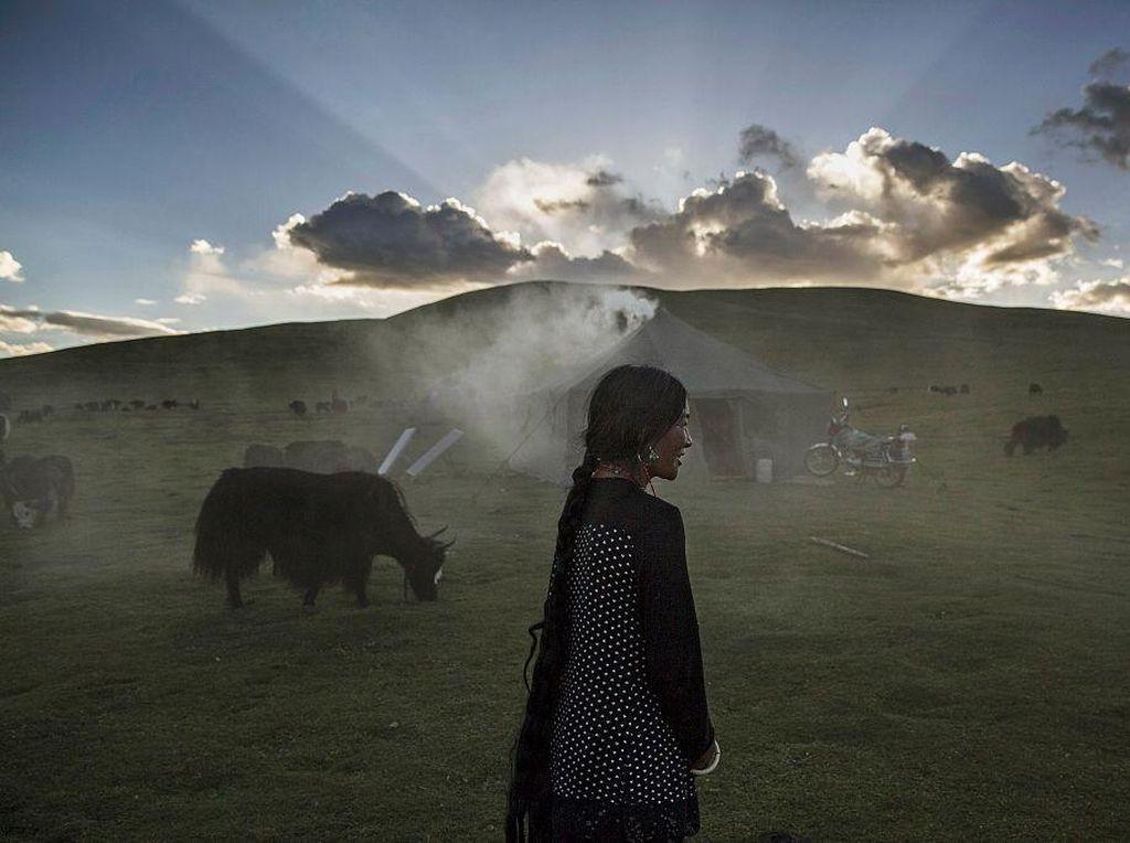 Melihat Kehidupan Tibet yang Sering Disebut Atap Dunia