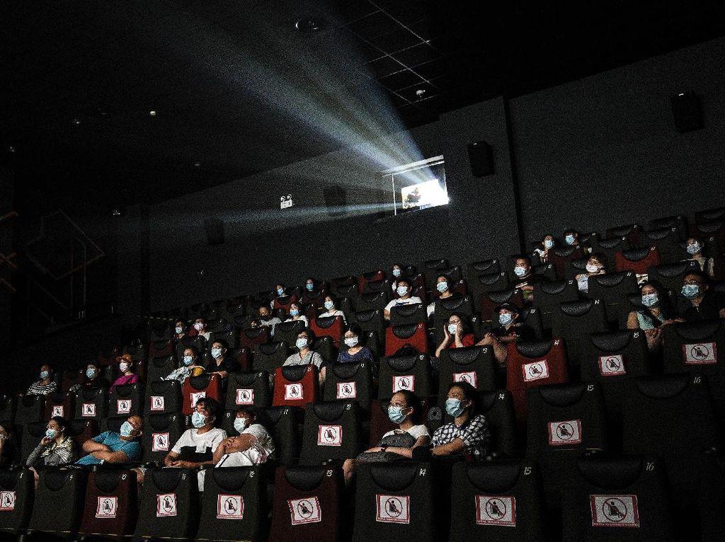 Bioskop DKI Tak Dibuka Serentak, Pengunjung Juga Dibatasi 25%