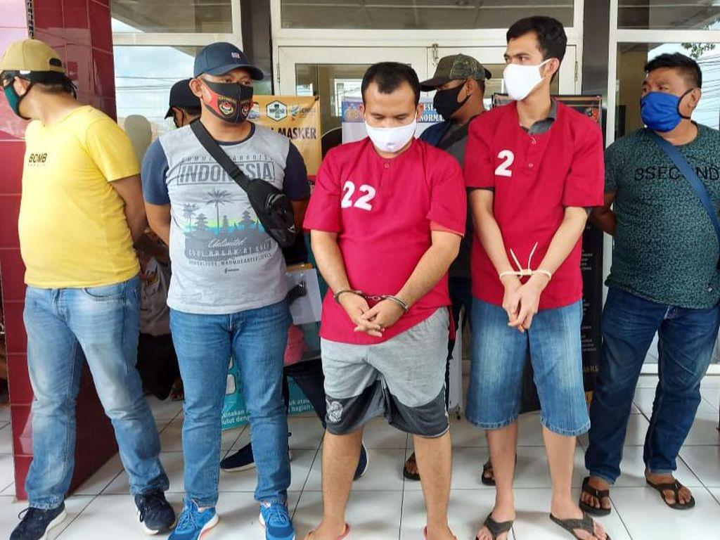 Akhir Pelarian Kakak-Adik Pembunuh Pemuda Hendak Prewed di Palembang