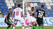 Video 2 Gol Ibrahimovic Menangkan AC Milan dari Sassuolo