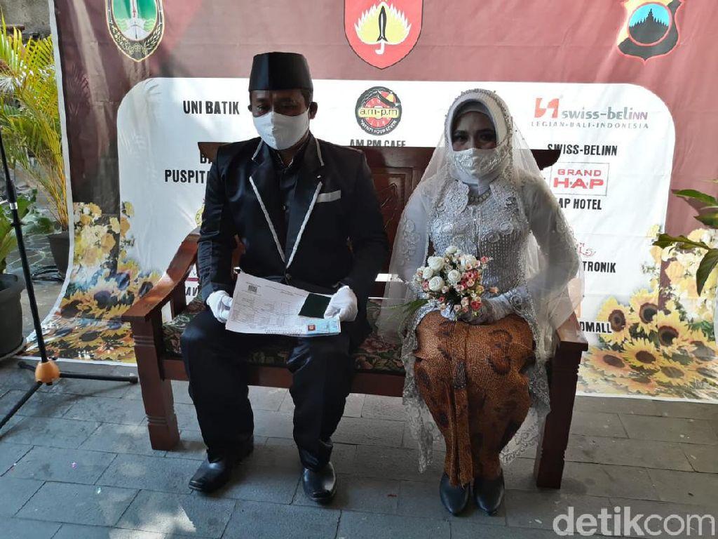 Sah! Pasangan yang Tinggal di Eks Gudang Es Angker Solo Resmi Menikah