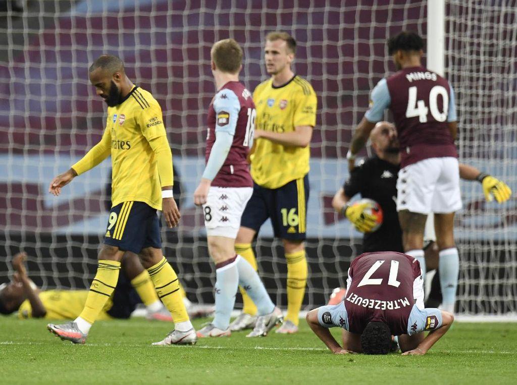 Usai Kalahkan Liverpool dan City, Arsenal Malah Dibungkam Villa