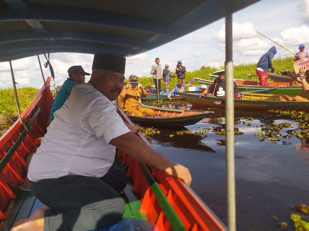 Lestarikan Pesut Mahakam, Bupati Kukar Terbitkan SK Kawasan Konservasi
