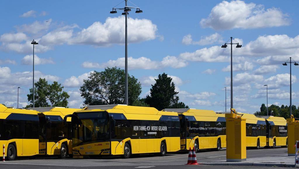 Jerman Kebut Penggunaan Bus Listrik