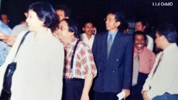 Foto jadul Presiden Joko Widodo (Jokowi) dan Sri Mulyani Indrawati