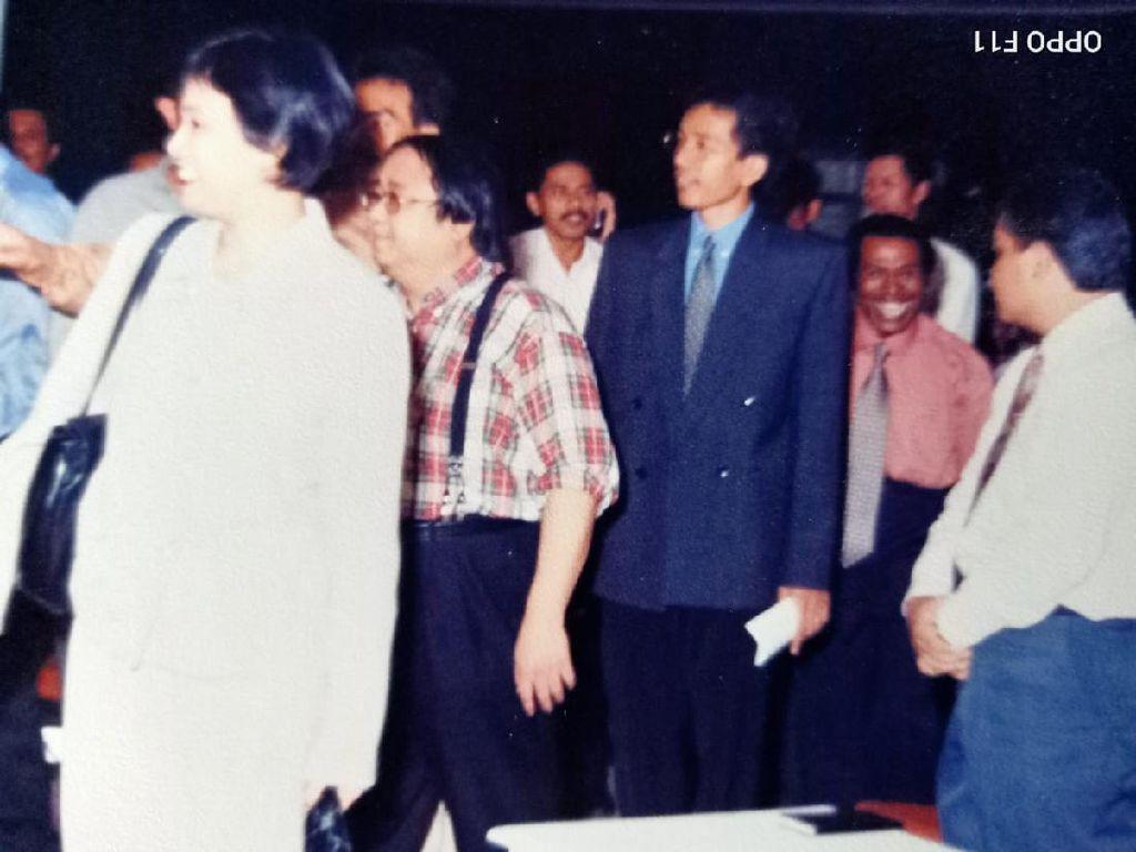 Nostalgia di Balik Foto Jadul Jokowi-Sri Mulyani