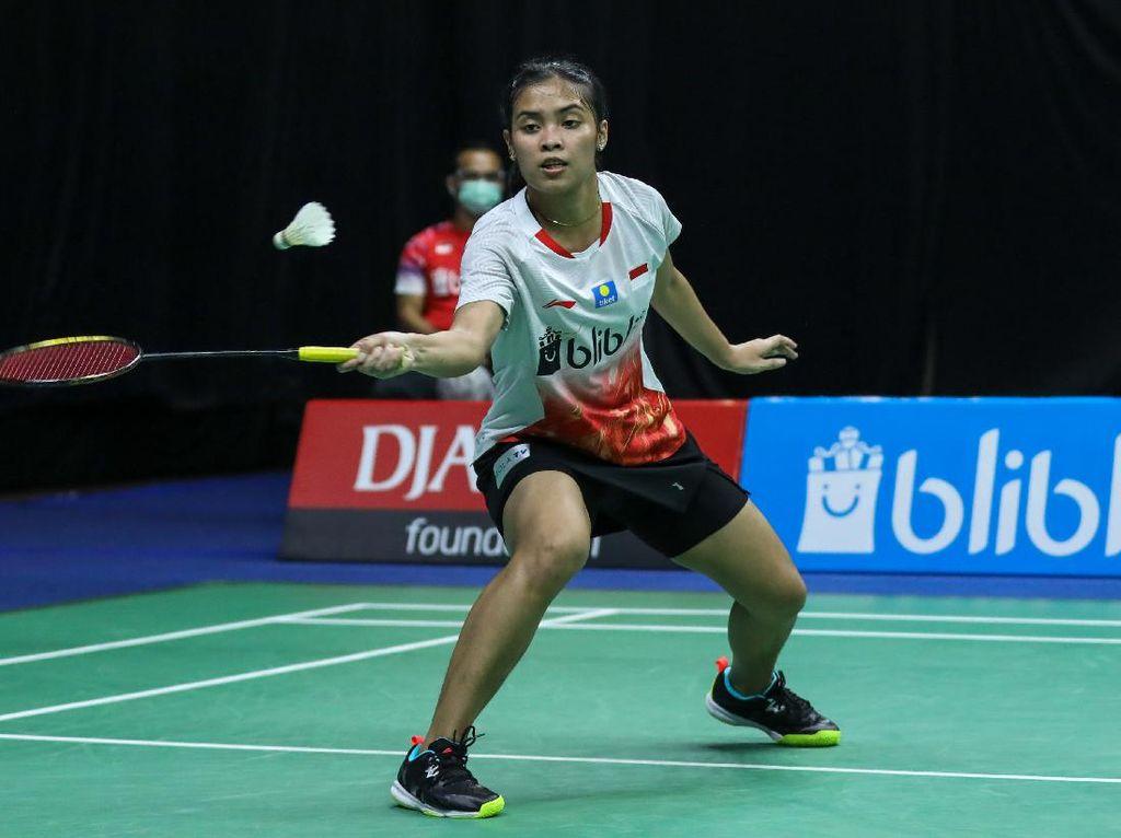 Hasil Perempatfinal PBSI Home Tournament Tunggal Putri