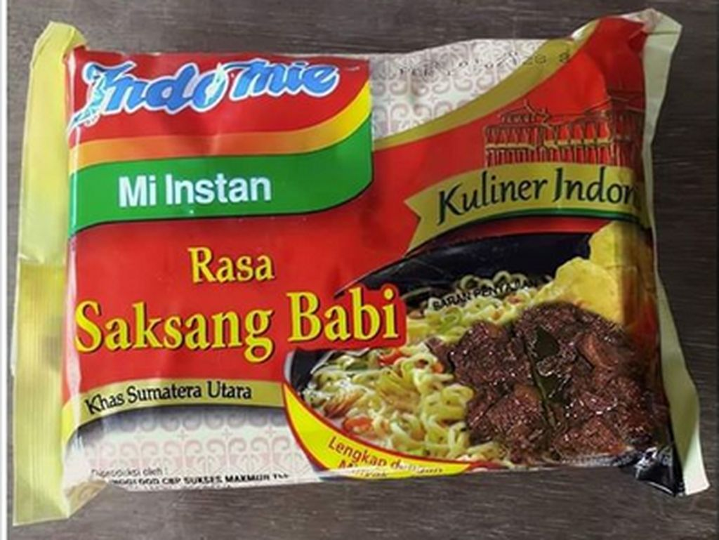 Fakta Saksang Babi, Nama Masakan Batak yang Ditempel di Kemasan Indomie