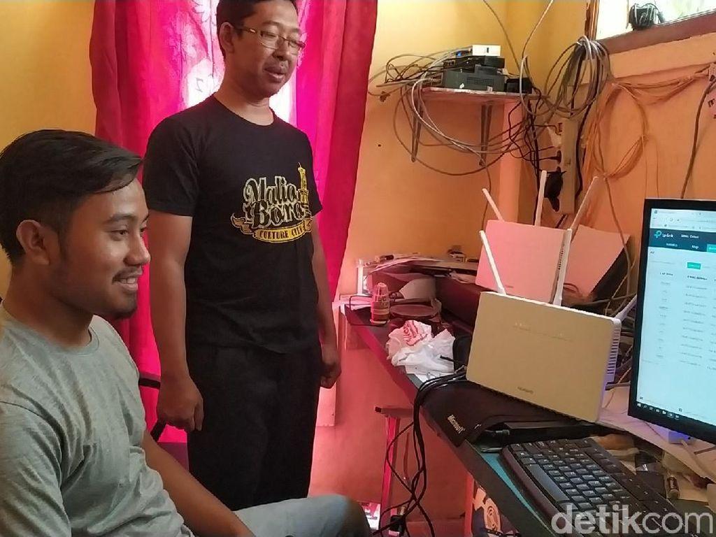 Suara Warga Kampung di Garut Butuh Internet Murah