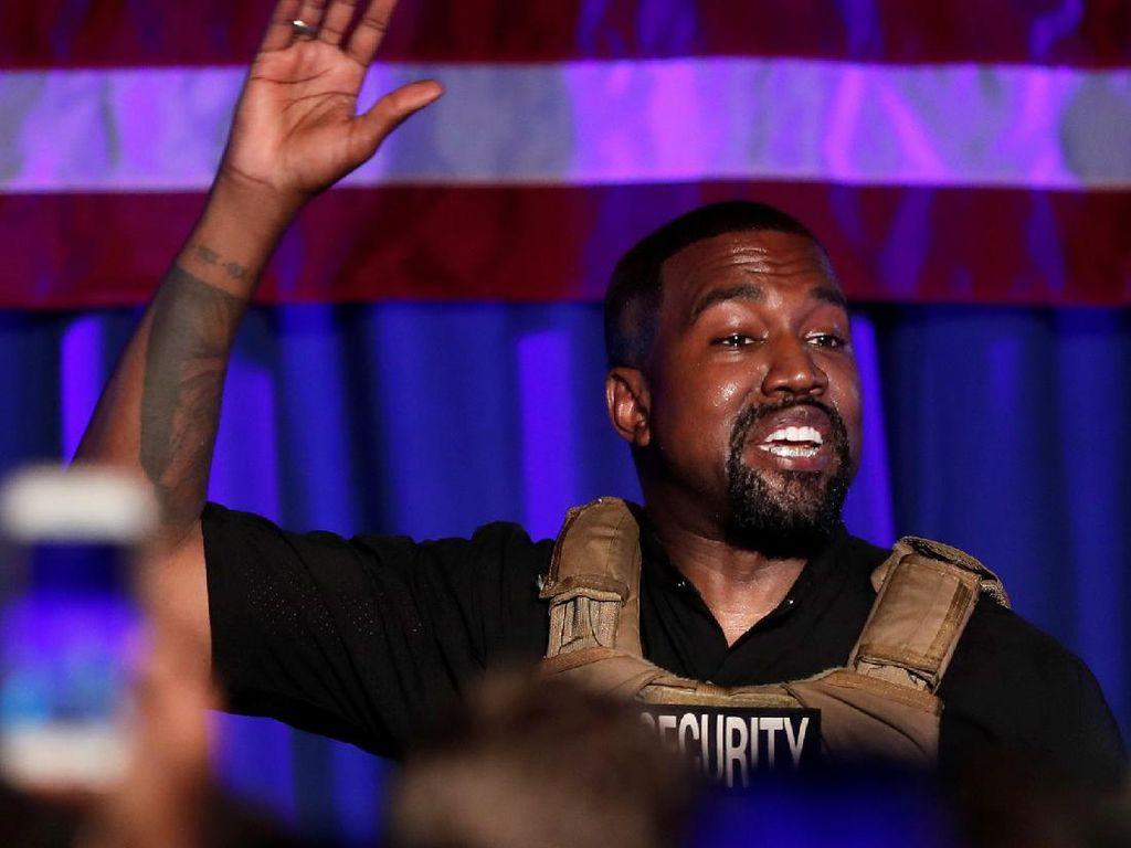 Berharta Rp 93 T, Kanye West Jadi Orang Kulit Hitam Paling Kaya di AS