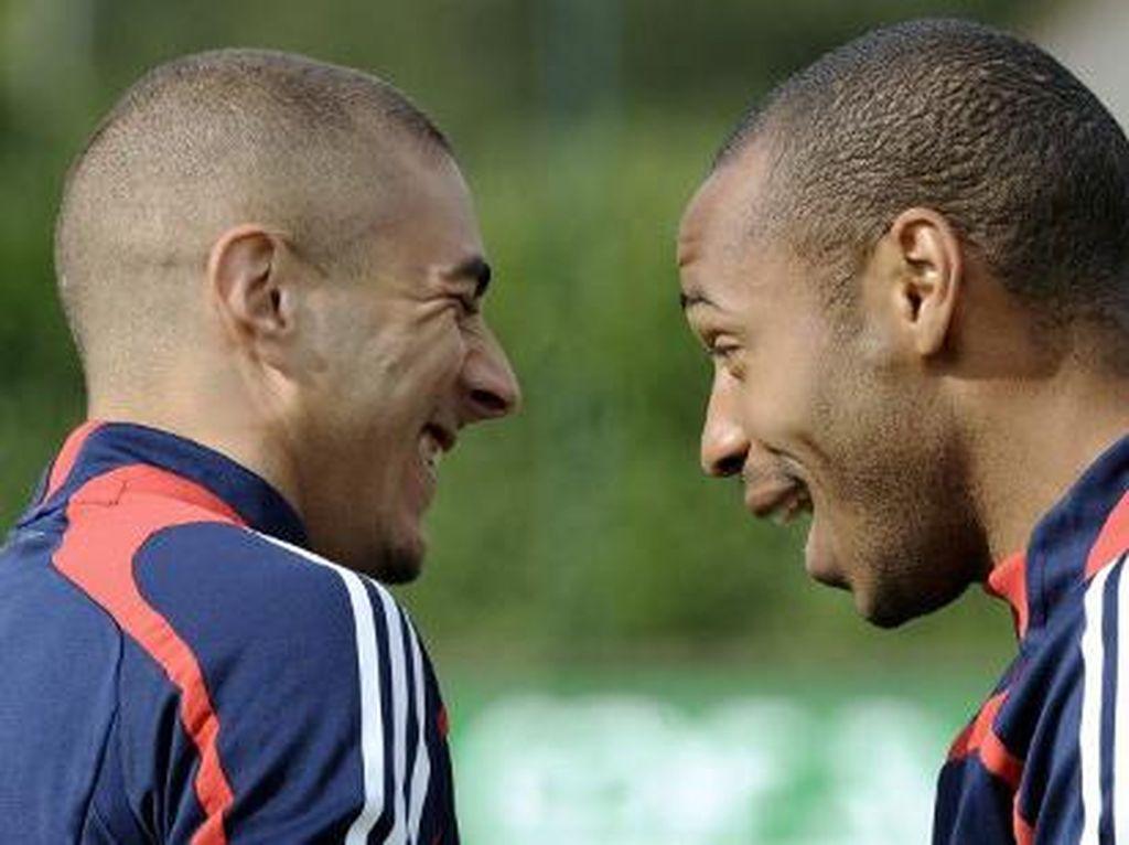 Apa Iya Karim Benzema Lebih Komplet ketimbang Thierry Henry?