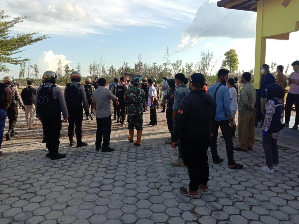 Ada Pemukulan, Pemakaman Jenazah Korban COVID-19 di Palangka Raya Dipindah