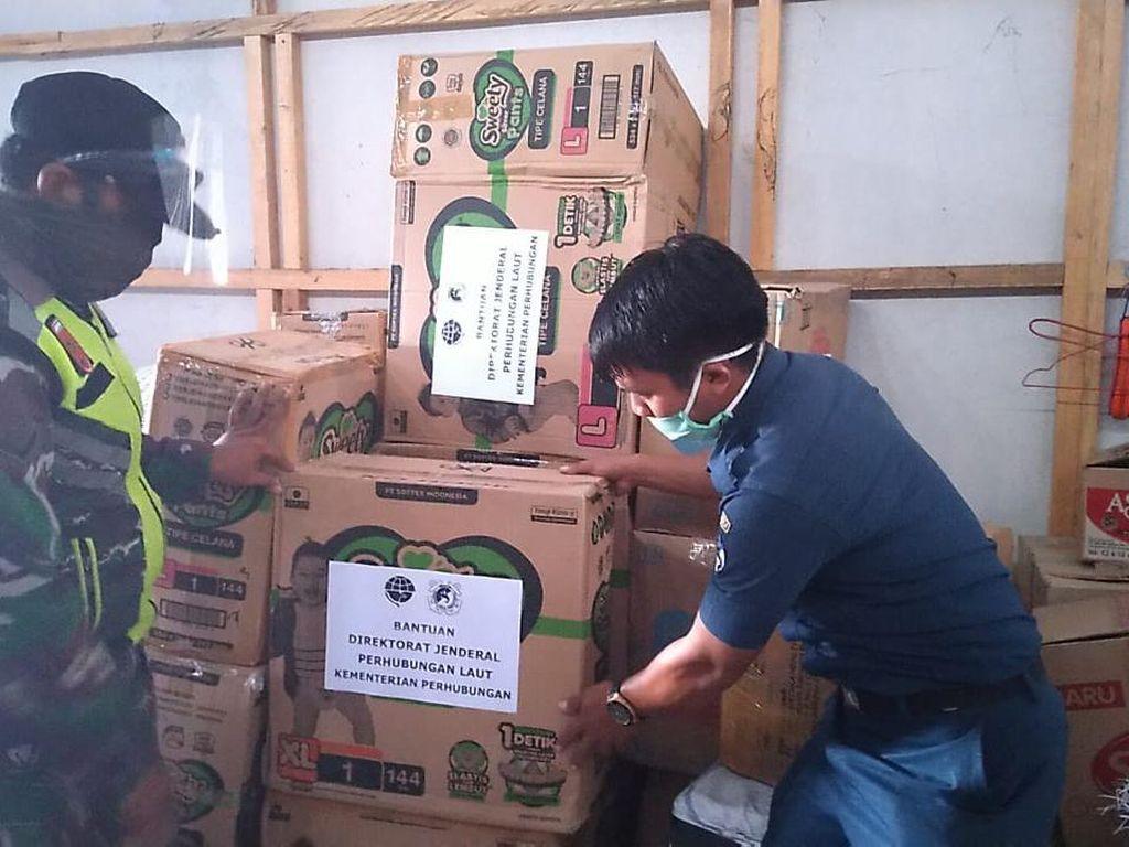Kemenhub Galang Aksi Sosial Bantu Korban Banjir Bandang di Masamba