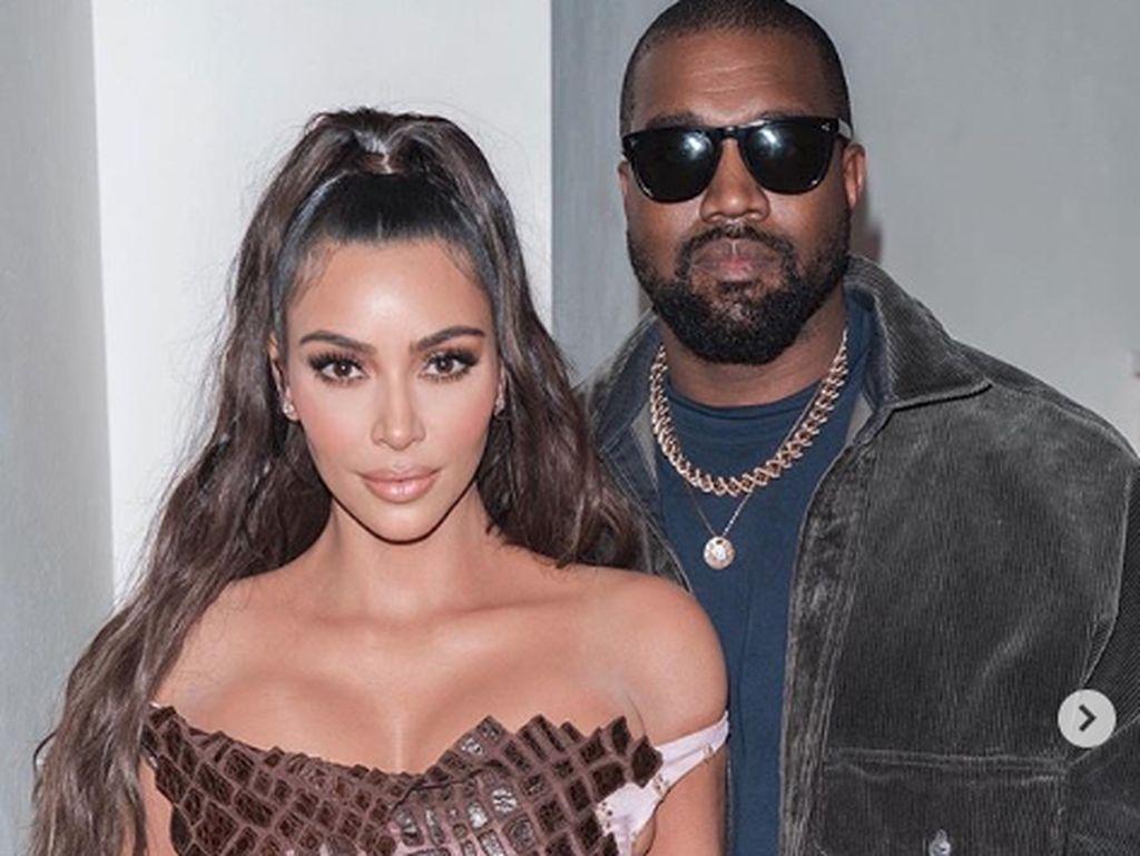 Balikan, Kim Kardashian dan Kanye West Kembali Penuh Cinta