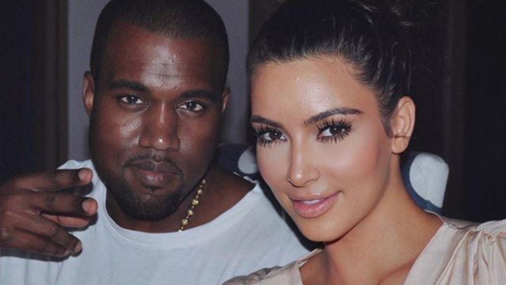 Melihat Lagi Kemesraan Kim Kardashian dan Kanye West